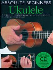 ABSOLUTE BEGINNERS UKULELE Book & CD for GCEA Tuning. From Hobgoblin Music