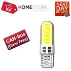 Canbus LED Error Free T10 W5W 6000k HID White W5W Bulbs Side Parking Lights 12V