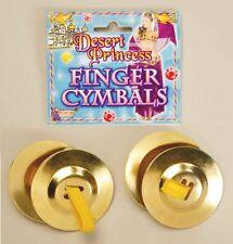 Finger Cymbals Castanets Desert Princess Genie Harem Belly Dancer Accessory