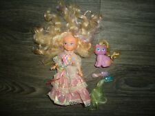 vintage original Lady Lovely Locks doll lot with cat