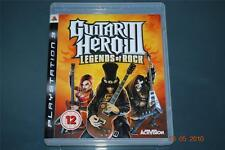 GUITAR HERO III PS3 LEGENDS OF ROCK Playstation 3