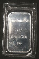 "SCOTIABANK 1 OZ .999 PURE SILVER BAR ""SEALED""    LOT 110428"
