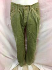 EDUN Olive Green Straight Leg Khaki Jeans, Men's Size 32