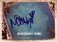 WWE Diva Naomi aka Trinity Fatu Signed Autograph Card Auto