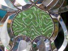 Bleiverglasung Facetten- Fensterbild mit originalen Jugendstilglas in Tiffany