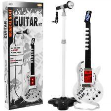 Kindergitarre Rockgitarre gitarre Mikrofon mit Stativ mp3 eingang NEU OVP