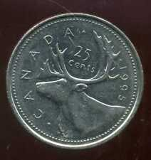 CANADA 25 cents  1995