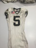 Game Worn Purdue Boilermakers Football Jersey Used Nike #5 Size 44