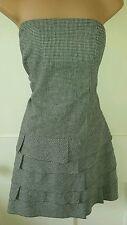 Checked Sleeveless Mini NEXT Dresses for Women