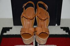 Ralph Lauren Collection Purple Label High Heel Leather Sport Sandals 9 B