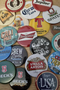 PERFECT DRAFT BACK BADGES/TAP HANDLE MAGNETS -  IN STOCK & READY TO POST