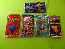 Pogs * Hero Packs * Batman * Spider-Man * X-Men * Marvel Heroes * Each w/Slammer