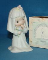 Precious Moments Figurine E2846 ln box Bride