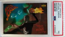 1994 Upper Deck Nintendo Michael Jordan Chaos In The Windy City, PSA 7, Only 13^