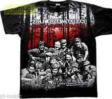 = t-shirt ZOLNIERZE WYKLECI - POLSKA/ ALLPRINT-size XXXL koszulka // patrioty