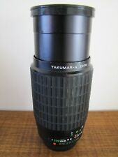 Pentax Zoom Lens Takumar - A Zoom  1 : 4  70 ~ 200mm Lens And Caps VGC