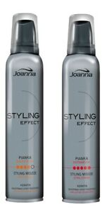 JOANNA STYLING Effect STYLING MOUSSE VERY STRONG / EXTRA STRONG