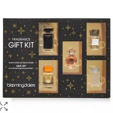 5-PC SAMPLER FRAGRANCE GIFT SET D&G CLEAN FERRAGAMO TORY BURCH NARCISO RODRIGUEZ