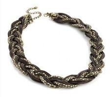 Bronze Modeschmuck-Halsketten & -Anhänger im Retro