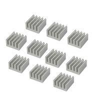 20pcs Aluminum Heat Sink for StepStick A4988 IC 8.8*8.8*5mm ZT