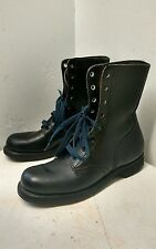 Biltrite Punk Military Leather Combat Boots Men's Size 8 Steel Toe Vintage