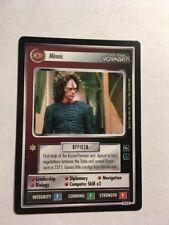 Star Trek CCG 1E Minnis 151R Rare Card