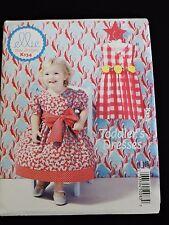 Toddler Girl Dresses Spring Summer Sewing Pattern Ellie Mae Kwik Sew K134 Simple