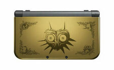 Nintendo Nuovo 3 DS XL Majora's Mask EDITION BLACK & GOLD sistema palmare