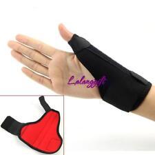 1X Thumb Loop Finger Wrist Support Strap Splint Brace Sports Protective Hot -LG