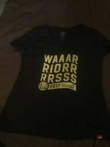 Authentic Sportiqe Apparel Co. Plus Size NBA Ladies Warriors T Shirt XXL/2X