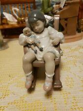 "Lladro Figurine #5448 Naptime, 4 3/4"""