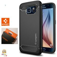 Custodia SAMSUNG GALAXY S6 Spigen [ Rugged Armor ] Cover Black in Policarbonato