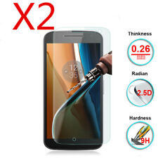 Motorola Moto G4 G5 G5S G6 Plus 9H HD Tempered Glass Screen Protector Film 2PCS