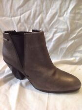 Autograph Grey Ankle Leather Boots Size 6