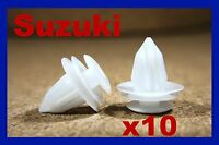 For SUZUKI 10 door card fascia trim panel cover cowling moulding fastener clips