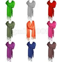 Elegant Fashion New Women's 100% Cashmere Pashmina Soft Warm Wrap Shawl Scarf