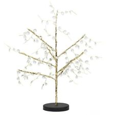 Decorative Gold Battery Operated 24 Warm White LED Bonsai Style Tree Table Lamp