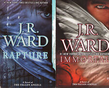 Complete Set Series - Lot of 6 Fallen Angel Books by J.R. Ward PB Covet Crave