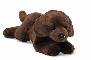Gund Chocolate Labrador Dog Stuffed 14 inch Animal Plush Toy New with Tags Lab
