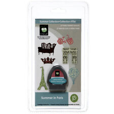 NEW!! Cricut cartridge Summer in Paris!!  Original solutions w/ keypad overlay!!