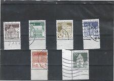 Gestempelte ungeprüfte Briefmarken aus der BRD (1960-1969)