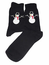 Lindo Muñeco De Nieve calcetines-Perfecto Para Navidad O Santa secreto, Gran Novedad Regalo