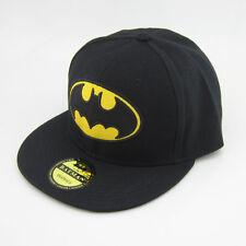 New DC Comics Black Adjustable Snapback Batman Hat cap flat hiphop baseball Gift