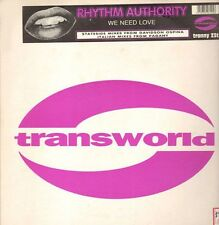 RHYTHM AUTHORITY - We Need Love  - Transworld