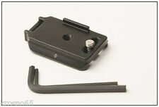 Fuji X-M1 camera plate 4 kirk markins wimberley acratech arca swiss RRS foba