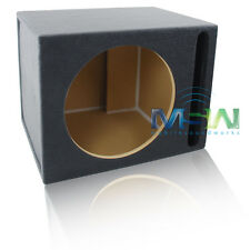 """VENTED MDF SUBWOOFER ENCLOSURE BOX for SINGLE 15"""" ROUND CAR AUDIO SUB WOOFER NEW"""