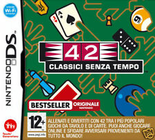 Videogame 42 Classici senza Tempo NDS