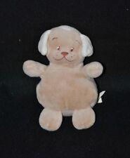 Peluche doudou chien BENGY beige brun marron 15 cm TTBE