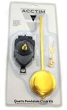 Acctim Pendulum Quartz Replacement Clock Movement Kit with 245mm pendulum.79473