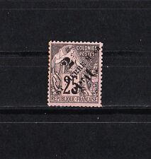 Saint Pierre et Miquelon  de 1891/2  surcharge  2c  noir sur 25c   num: 40 *